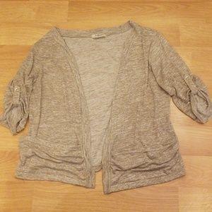 Romy open sweater